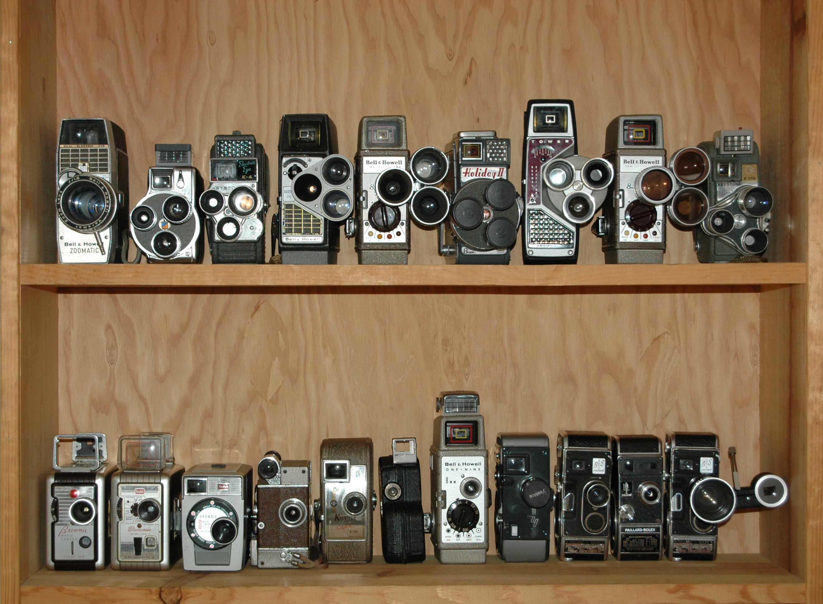 BJ's Movie Camera Collection